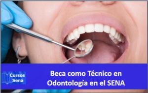 Beca como Técnico en odontología en el SENA