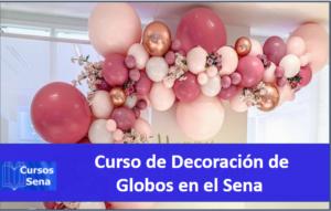 SENA Curso de decoración de globos