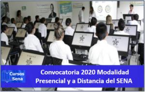 Convocatoria 2020