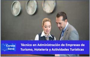 Técnico en Administración de Empresas de Turismo